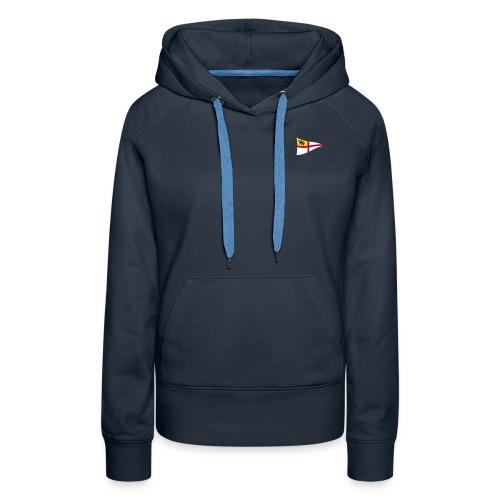 ROYC Logo 3 Farb Dunkel SIMPLE - Frauen Premium Hoodie