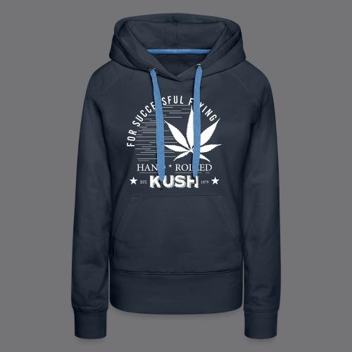 KUSH VINTAGE Tee Shirts - Women's Premium Hoodie