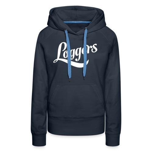 Loggers 1 color logo - Premium hettegenser for kvinner