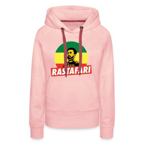 Haile Selassie - Emperor of Ethiopia - Rastafari - Frauen Premium Hoodie