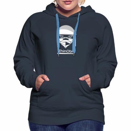 ZhinObi V2 White - Women's Premium Hoodie