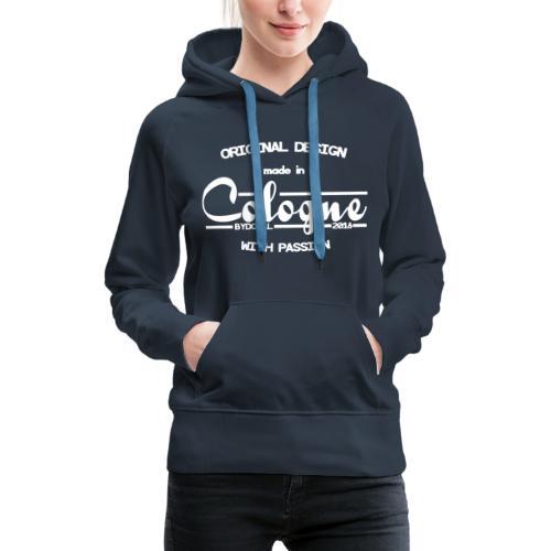 Cologne Original - Weiß - Frauen Premium Hoodie