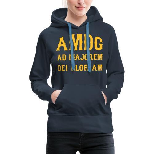 AMDG - Women's Premium Hoodie