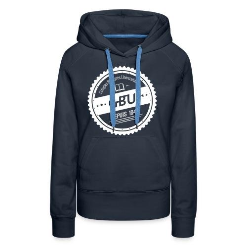 Blason-GBU_FINAL - Sweat-shirt à capuche Premium pour femmes
