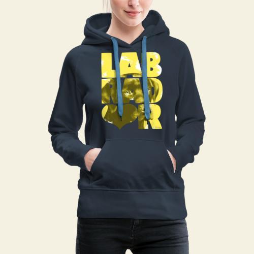 NASSU Labrador Brown I - Naisten premium-huppari