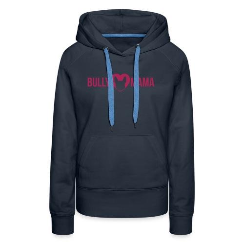 Bullymama - Französische Bulldogge Silhouette - Frauen Premium Hoodie