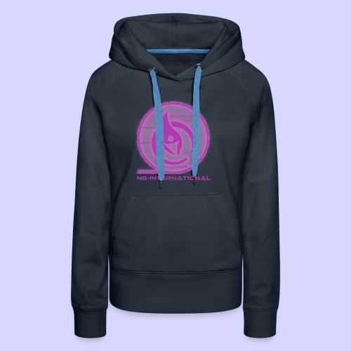 NGlogoX3rosa - Frauen Premium Hoodie