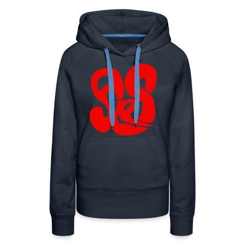 ales1kleur - Vrouwen Premium hoodie