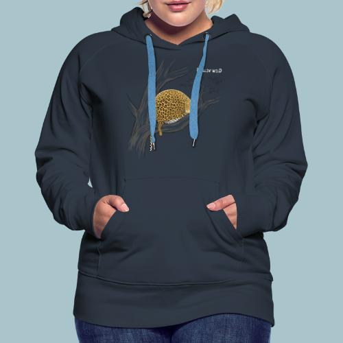 Rollin' Wild - Leopard on tree - Women's Premium Hoodie