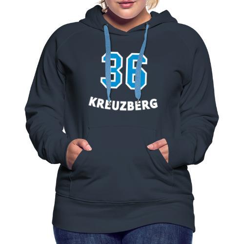 KREUZBERG 36 - Sweat-shirt à capuche Premium pour femmes