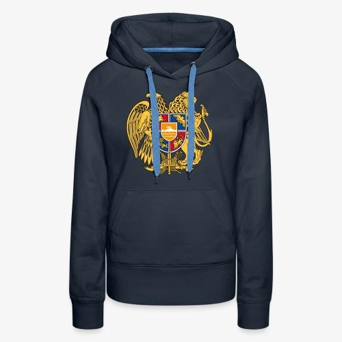 03 Armenien Wappen Armenia Армения T-Shirts - Frauen Premium Hoodie