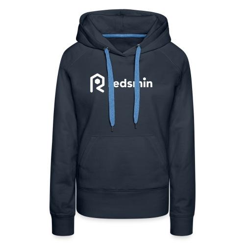 Redsmin white - Women's Premium Hoodie