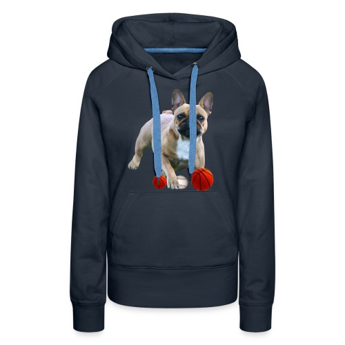 Babsi-Bully Französische Bulldoggen - Frauen Premium Hoodie