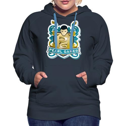 PEARL GAMES - Sweat-shirt à capuche Premium pour femmes