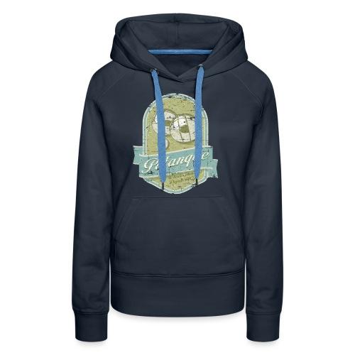Petanque vintage - Sweat-shirt à capuche Premium pour femmes