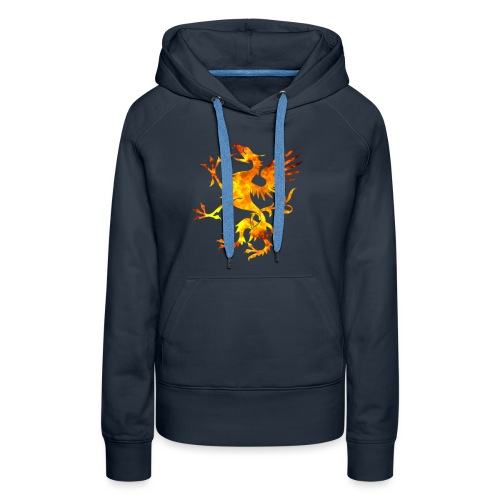 Viking Dragon Symbol Blood Norse Vikings Gift - Sweat-shirt à capuche Premium pour femmes