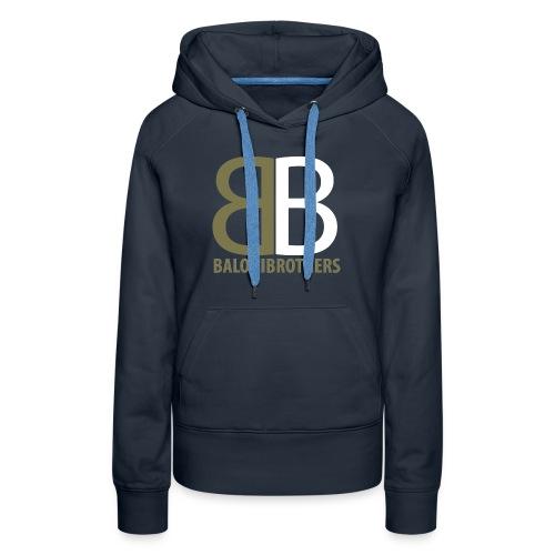 BB-BaloniBrothers Logo - Premium hettegenser for kvinner
