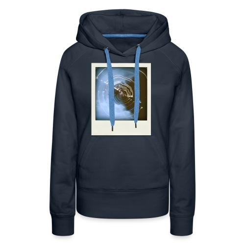 T-shirt Light-painting Polaroid - Sweat-shirt à capuche Premium pour femmes