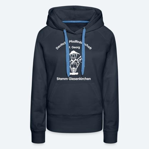 Logo_DPSG_Stamm_Giesenkir - Frauen Premium Hoodie