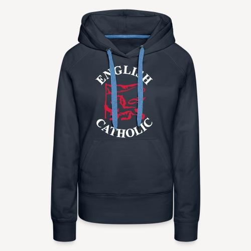 ENGLISH CATHOLIC - Women's Premium Hoodie