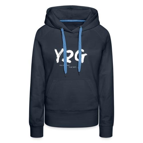 Y2G - Sweat-shirt à capuche Premium pour femmes