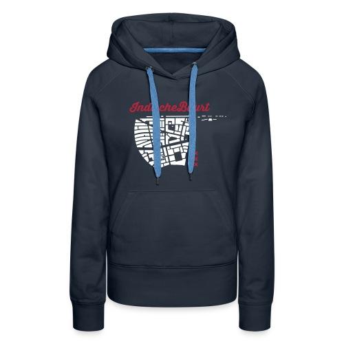 ib shirt 1 - Vrouwen Premium hoodie