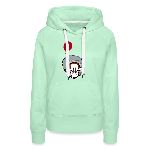 Evil Clown Sheep from IT - Sweat-shirt à capuche Premium pour femmes