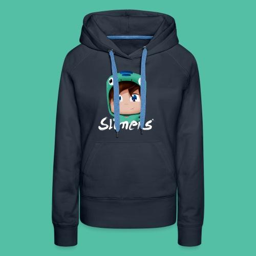 T-shirt Logo Slimers - Sweat-shirt à capuche Premium pour femmes