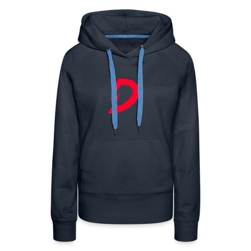 Destra Logo by Atelier render red - Vrouwen Premium hoodie