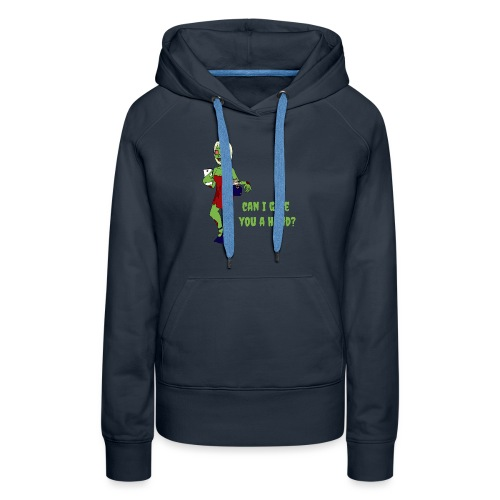 give a hand - Women's Premium Hoodie