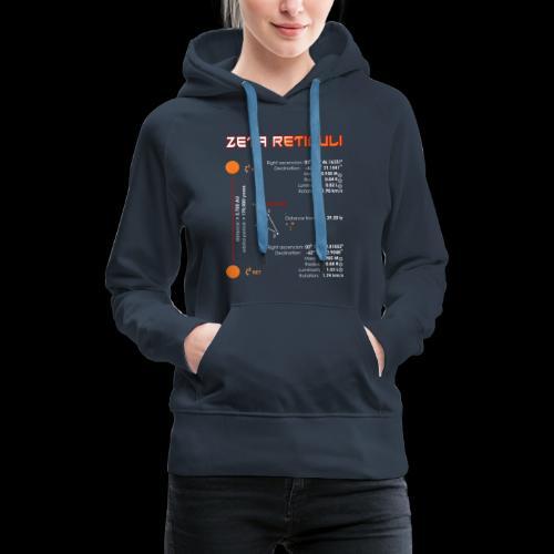 Zeta Reticuli - Frauen Premium Hoodie