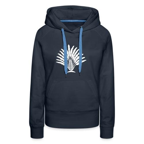 Arbre du Voyageur - Sweat-shirt à capuche Premium pour femmes