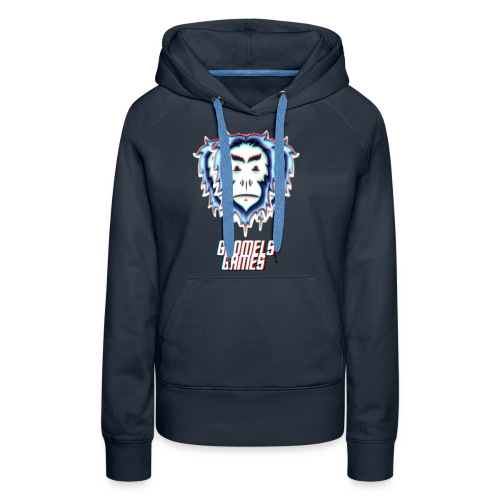 GoomelsGames logo & text teenager t-shirt. - Vrouwen Premium hoodie