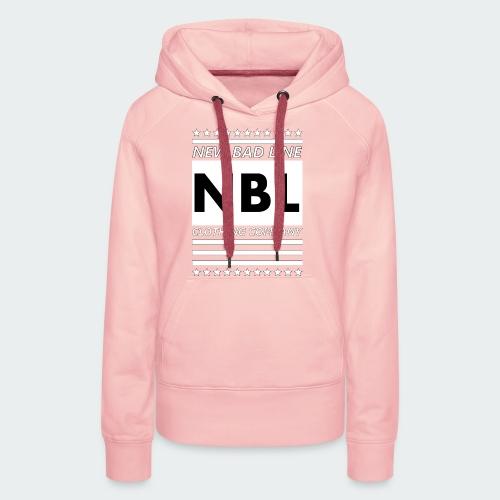 Męska Koszulka Premium New Bad Line - Bluza damska Premium z kapturem