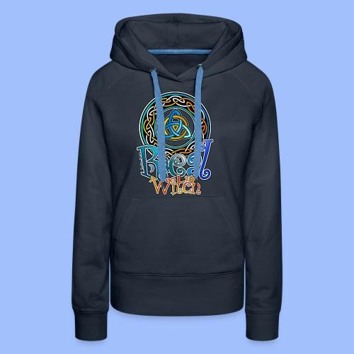 Real witch - Sweat-shirt à capuche Premium pour femmes