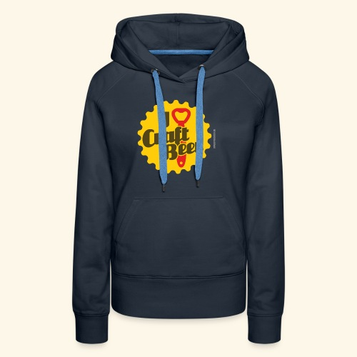 Craft Beer T-Shirt Design I Love Craft Beer - Frauen Premium Hoodie