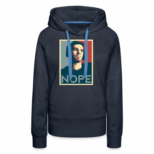 NOPE USA - Sweat-shirt à capuche Premium pour femmes
