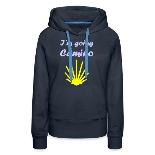 Going Camino - Dame Premium hættetrøje