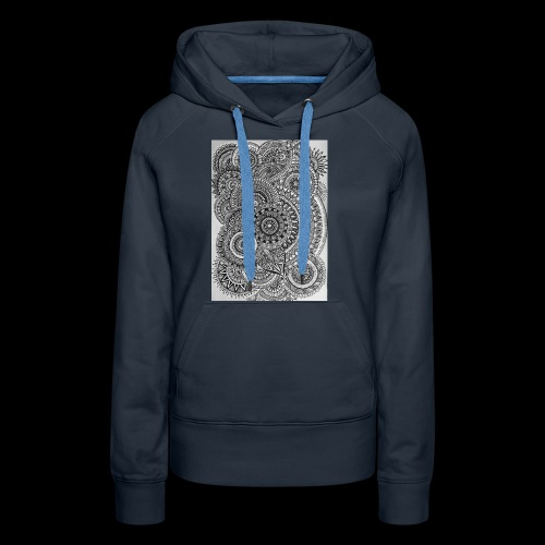 Chaos and Symmetry // - Women's Premium Hoodie