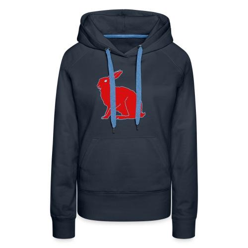 Roter Hase - Frauen Premium Hoodie