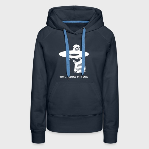 T-Record - Handle with care - Vrouwen Premium hoodie