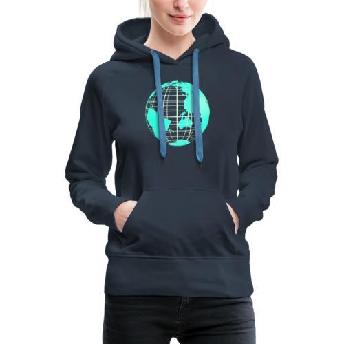 Goodies 2048 - Sweat-shirt à capuche Premium pour femmes