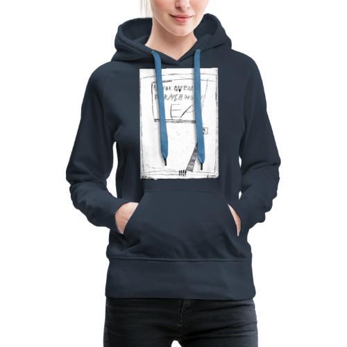 unbequem fernsehen - Women's Premium Hoodie
