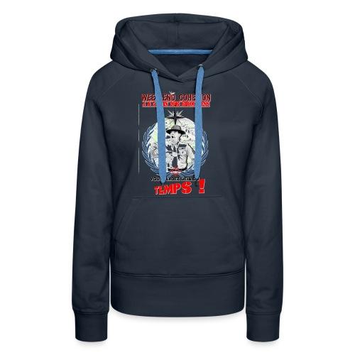 Débardeur femme - Sweat-shirt à capuche Premium pour femmes