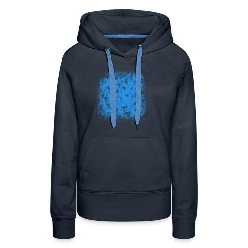 blaue Wolke - Frauen Premium Hoodie