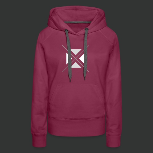 triangles-png - Women's Premium Hoodie