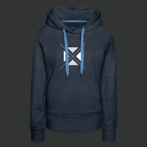triangles-png - Women's Premium Hoodie