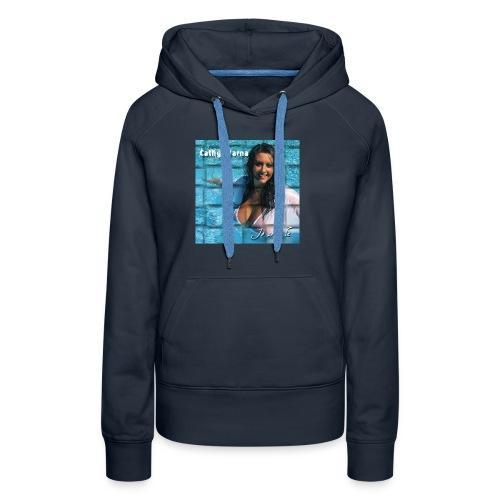 PochetteCathy2 jpg - Sweat-shirt à capuche Premium pour femmes