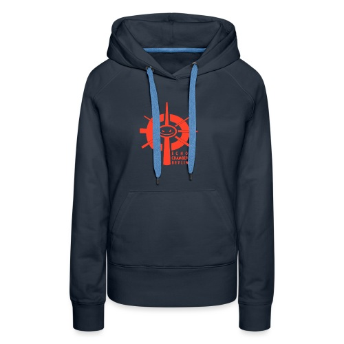 Echochamber Logo rot - Frauen Premium Hoodie