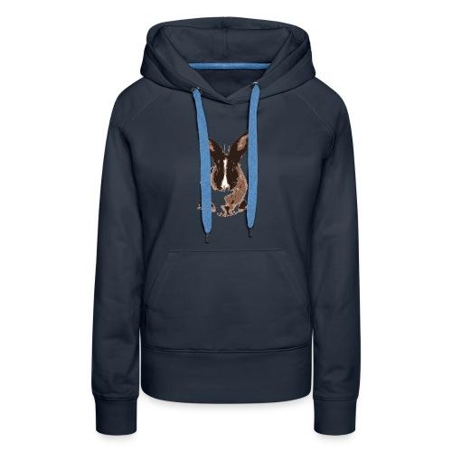 Mon petit lapin - Sweat-shirt à capuche Premium pour femmes